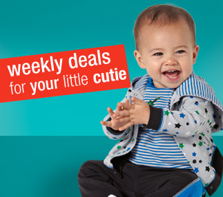 weekly deals for your little cutie