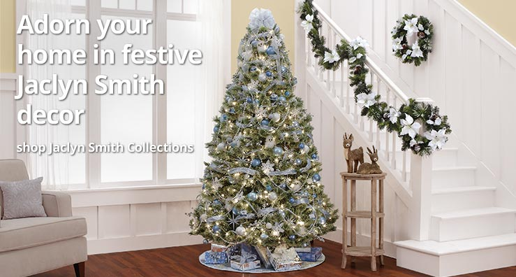 Adorn your home in festive Jaclyn Smith decor