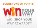 Win Your Way with Shop Your Way Rewards