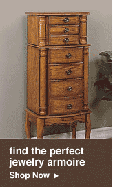find the perfect jewelry armoire