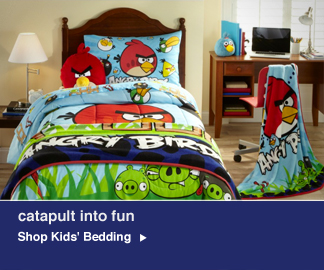 Slumber Party Fun Shop Kids Bedding